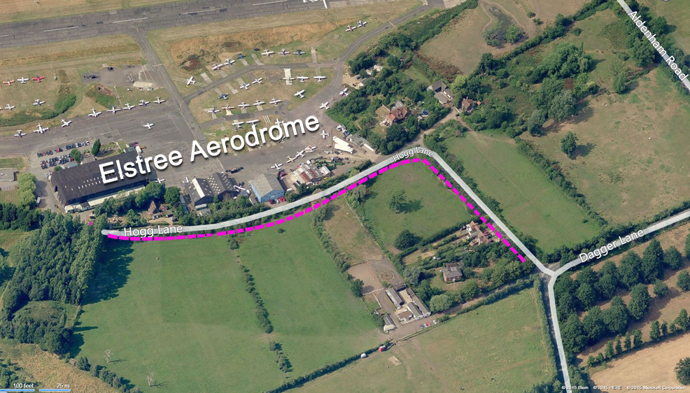 Finding Elstree Aerodrome
