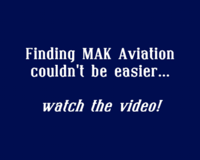 Finding your way to your flying lesson iwth MAK Aviation Flight school at Hertfordshire's London Elstree Aerodrome, near Watford and Borehamwood